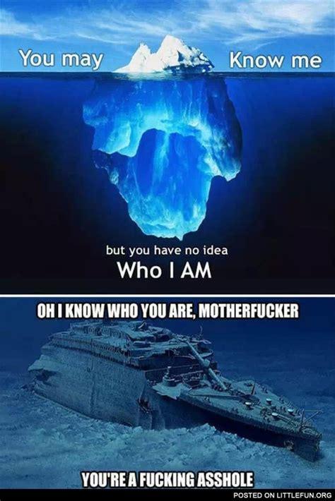 Titanic Funny Memes - littlefun iceberg vs titanic
