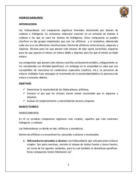 Practica 2 quimica organica