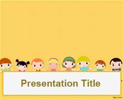 free children powerpoint templates children powerpoint template for free