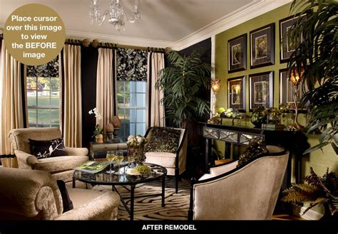 Living Room Makeover Sweepstakes Home Renovations Before After Articles Atlanta Home