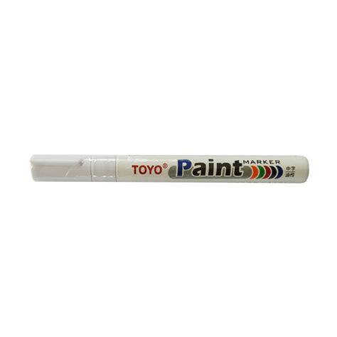 Spidol Ban Mobil Motor Toyo Original Putih Paint Marker jual toyo spidol ban putih harga kualitas terjamin blibli