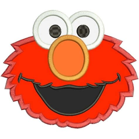 elmo applique elmo applique design