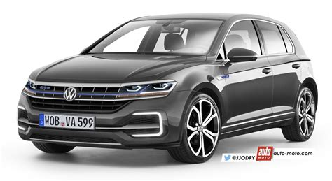 Golf 8 Auto by Scoop Future Volkswagen Golf 8 Pas Attendue Avant 2019