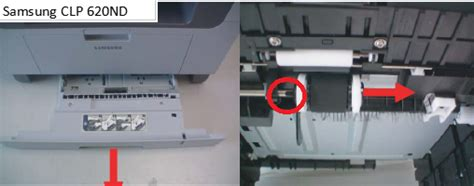 samsung clp  pick  roller replacement