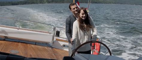 this dreamy boat trip 18 steamy fifty shades darker gifs - Boat Trip Gif