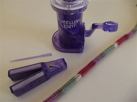 embellish knit machine pink and purple crochet pineapple bottle wrap g ma