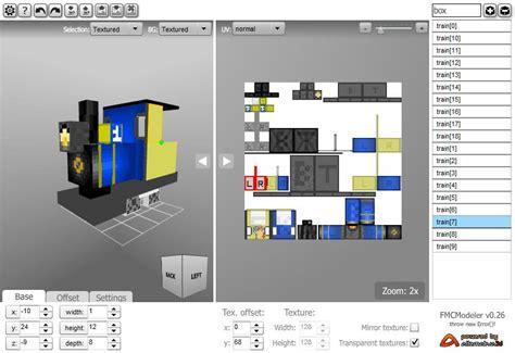 tool mod game java modeler fmcmodeler v0 26 minecraft models in a flash