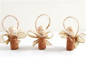 Angels Christmas Ornaments - how to make wine cork angels wine cork angel ornaments