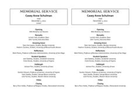 Free Funeral Program Template Check Out Our Sle Funeral Program Template Also Known As Sunday Church Program Template