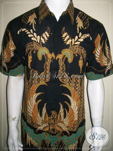 Kemeja Batik Pria Batik Tulis Lengan Pendek Warna Soft Baru Code B L batik tulis pria lengan pendek warna hitam motif keren ld991t l toko batik 2018