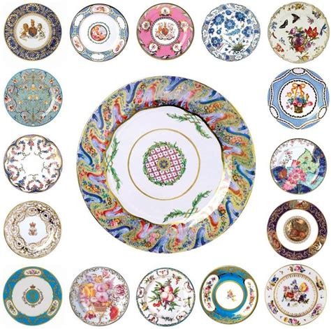 design love fest target plates museum collection floral tin enamel plates the english room