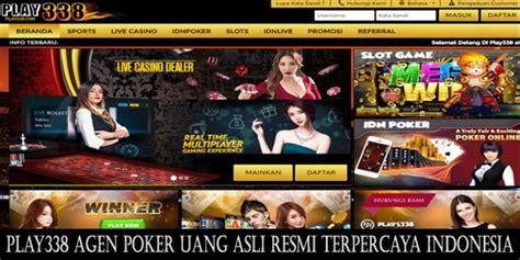 play agen poker uang asli resmi terpercaya indonesia