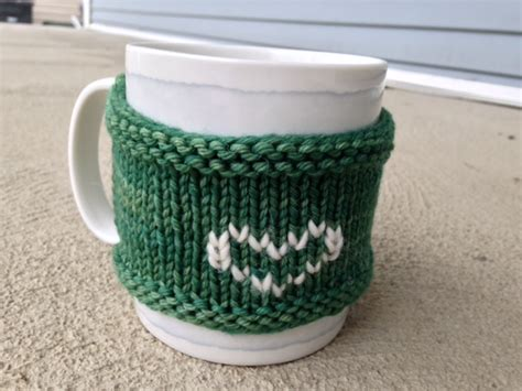 knitting pattern for cup cozy how to knit a mug cozy easy to follow tutorial