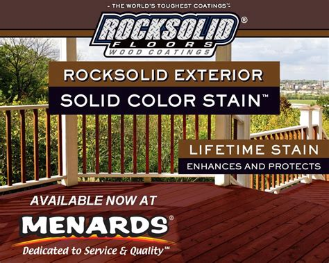 deck restoration menards glamour rocksolid  worlds