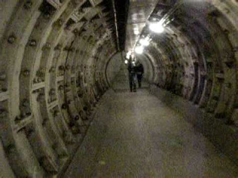 thames river underground tunnel a walk under the thames the greenwich foot tunnel london