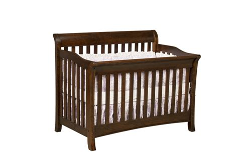 Amish Baby Cribs by Amish Furniture Crafted Solid Wood Baby Furniture