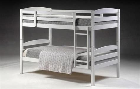King Single Bunk Beds With Trundle Cosmos Bunk King Single White Bunk Beds And Trundles