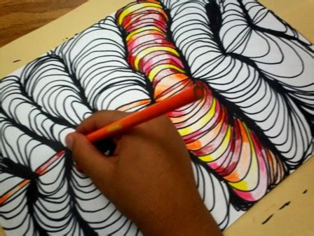 pattern art grade 4 art with mr e line design w shading 4th grade