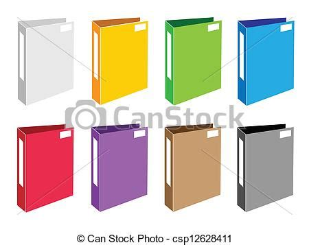 Office Clip Collection by Vector Clip Of Colorful Illustration Set Of Office