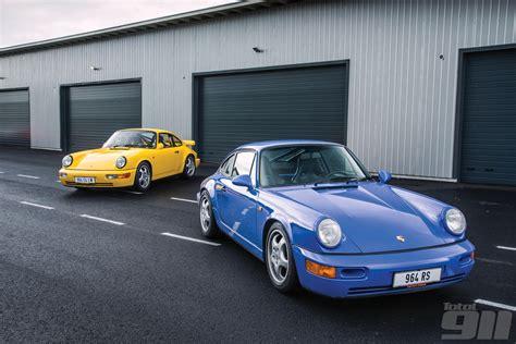porsche 964 rs porsche 964 rs vs 964 carrera 4 lightweight total 911