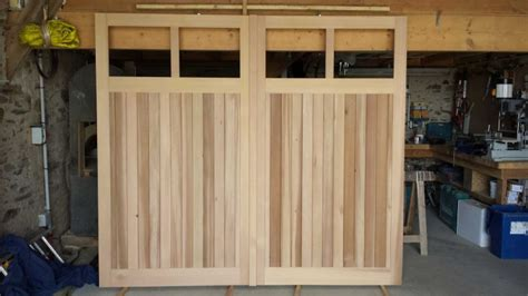 fabriquer sa porte de garage fabriquer sa porte de garage