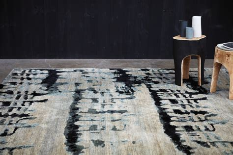 Au Rugs by Etched Dyed Rugs Tibetan Wool Designer Rugs