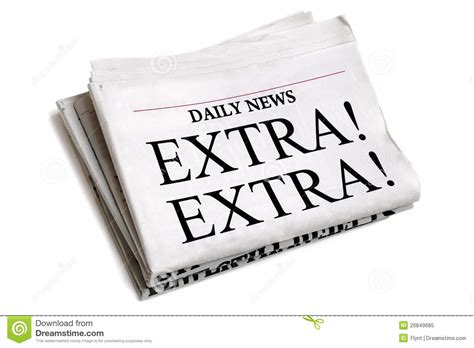 Royalty Free Newspaper Pictures Images And Stock Photos Istock Daily Newspaper Stock Image Image Of Exclamation Folded 20849685