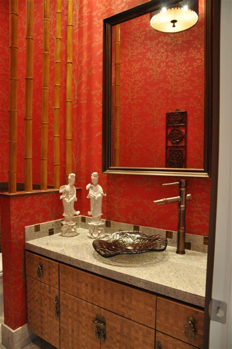 asian themed bathroom bamboo bath asian bathroom dallas by hensley