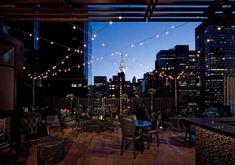 Ns York Top le top 5 des meilleurs bars sur les toits de new york