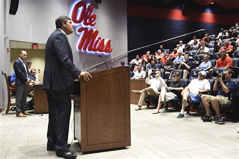 Toughspot Mba Internship wholehogsports ole miss luke in tough spot in