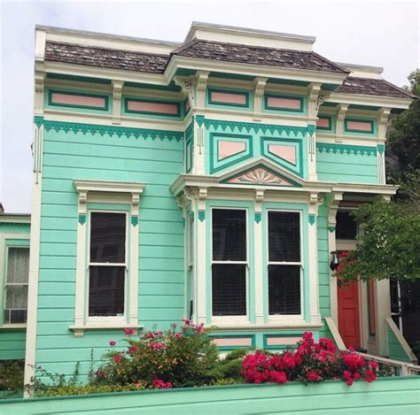 mint green house san francisco the rainbow city carnival of colour
