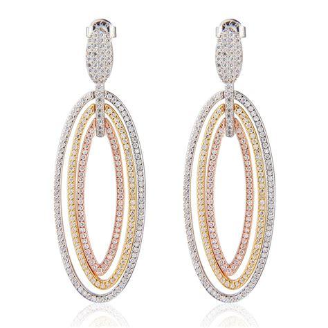 chandelier earrings uk ingenious three coloured chandelier earrings ingenious from ingenious jewellery uk