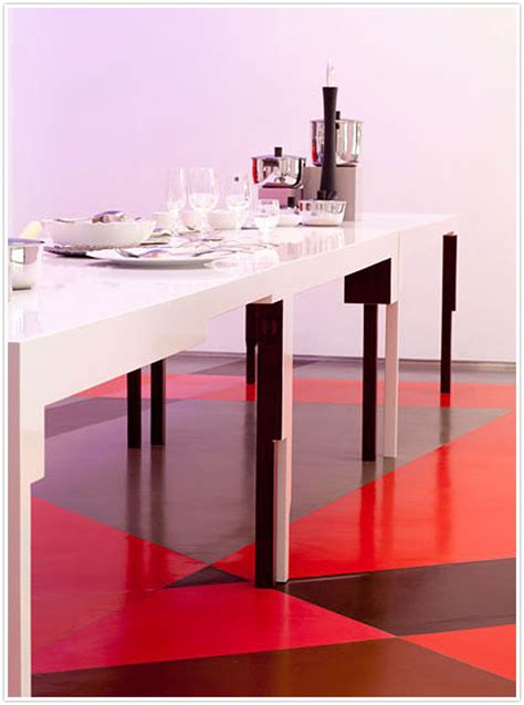 Pink Floor Paint by Do You Funky Flooring Camille Styles