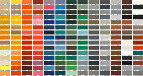 ral color 1000 ideas about ral color chart on ral
