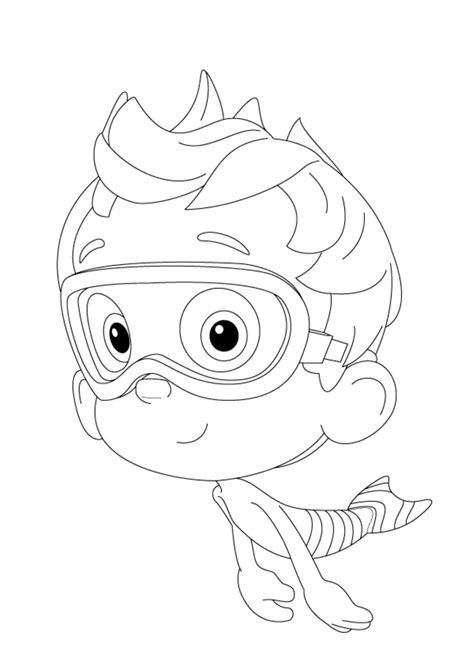 nonny bubble guppies driving racing car coloring page bubble guppies coloring pages nonny cartoon coloring