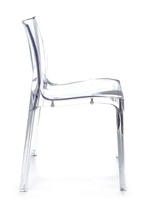 sedia policarbonato trasparente sedia trasparente isolda impilabile in policarbonato