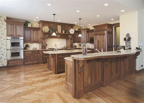 walnut kitchen walnut kitchen traditional kitchen columbus by schlabach wood design