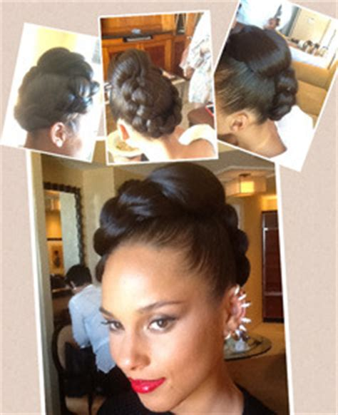 alicia keys mohawk braided hairstyles for black women