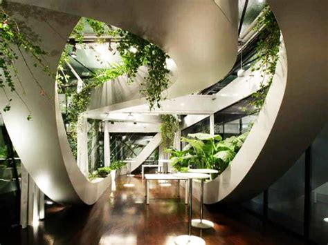 indoor garden ideas  green  home