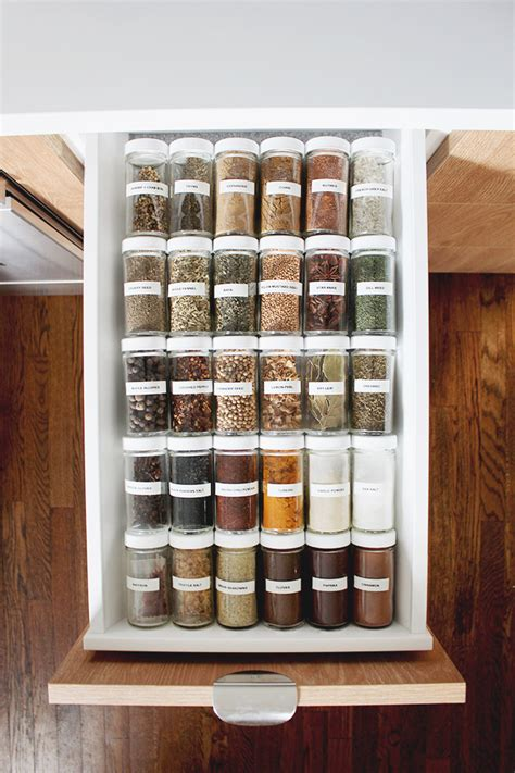 spice drawer organization almost makes