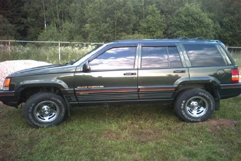 Jeep Grand Orvis 1995 Jeep Grand Orvis Pictures 4000cc Gasoline