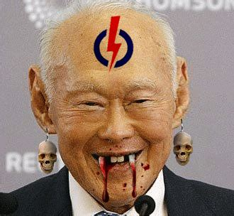 Lee Kuan Yew Meme - lee kuan yew mentioned negatively most times online new