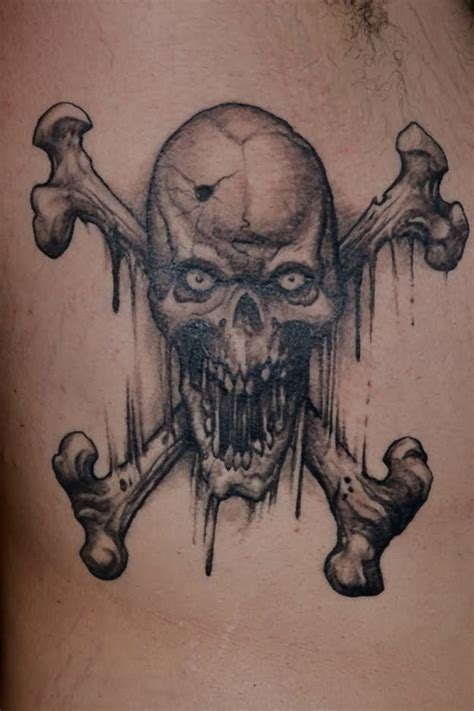 skull and crossbones tattoo gallery for gt skull and crossbones