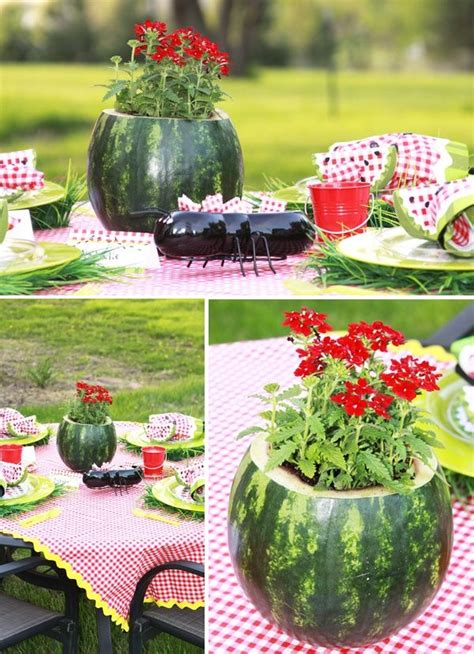 picnic bbq decoration ideas