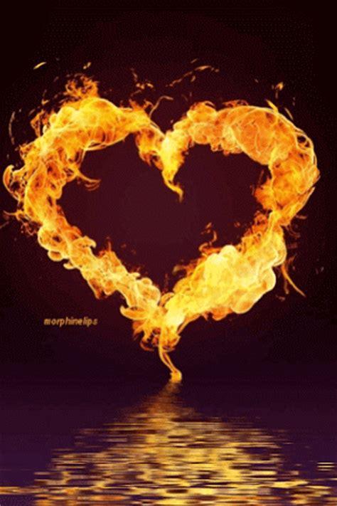 imagenes de love con fuego imagenes animadas de corazones de fuego