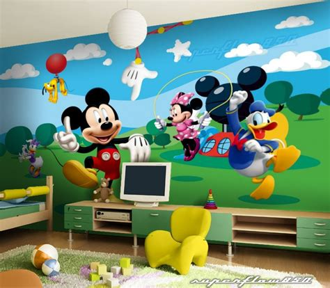 mickey mouse disney photo wallpaper wall mural ebay