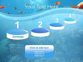 Coral Reef Powerpoint Template Backgrounds Id 0000001006 Smiletemplates Com Coral Reef Powerpoint Template Free