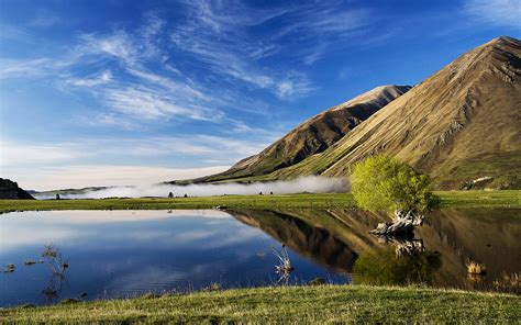 cool wallpaper new zealand lake coleridge new zealand wallpapers hd wallpapers id