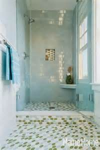 sea glass bathroom ideas blue nautical decor in an maine home completely coastal