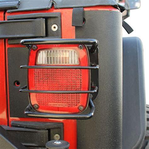 E Autogrilles Black Jeep Wrangler Light Guards